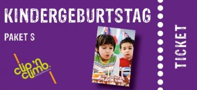 Partypaket-Kinder  S  Climb n Go Fr. - So. (4 bis 14J.)