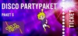 Disco -Partypaket S (12 - 17 Jahre)  Fr. - Sa.