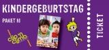 Partypaket-Kinder M  Fr. - So. (4 bis 14J.)