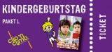 Partypaket-Kinder  L  Mo. - Do. (4 bis 14J.)