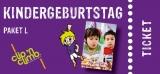 Partypaket-Kinder  L  Fr. - So. (4 bis 14J.)