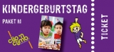 Partypaket-Kinder  M  Mo. - Do. (4 bis 14J.)